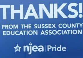 Thanks NJEA SCEA Pride